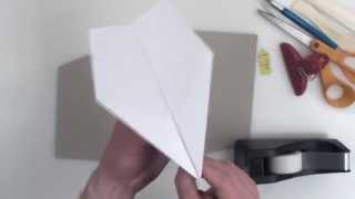 world record paper airplane Suzanne complete instructions