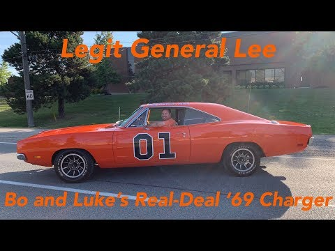 Real-Deal General Lee 1969 Dodge Charger from TV Show Dukes of Hazzard!