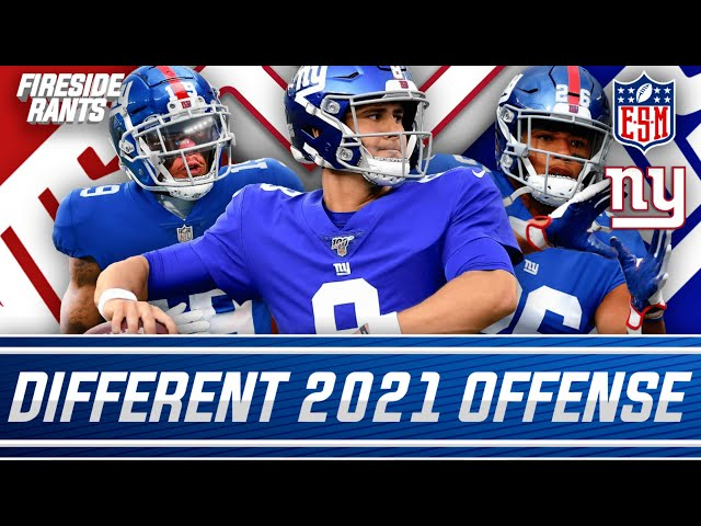 How the New York Giants Offense is Going to be TOTALLY Different in 2021!