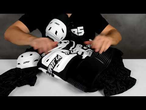 Моточерепаха Leatt Body Protector 5.5. Очень популярная защита тела в мотокроссе и эндуро.