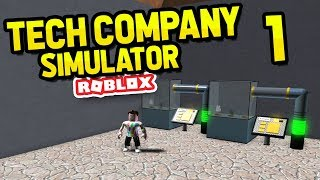 ROBLOX TECH COMPANY SIMULATOR #1