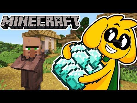 robando-diamantes-de-los-aldeanos-en-minecraft-#elitecraft-#2