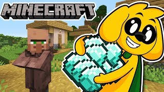 ROBANDO DIAMANTES DE LOS ALDEANOS EN MINECRAFT #ELITECRAFT #2