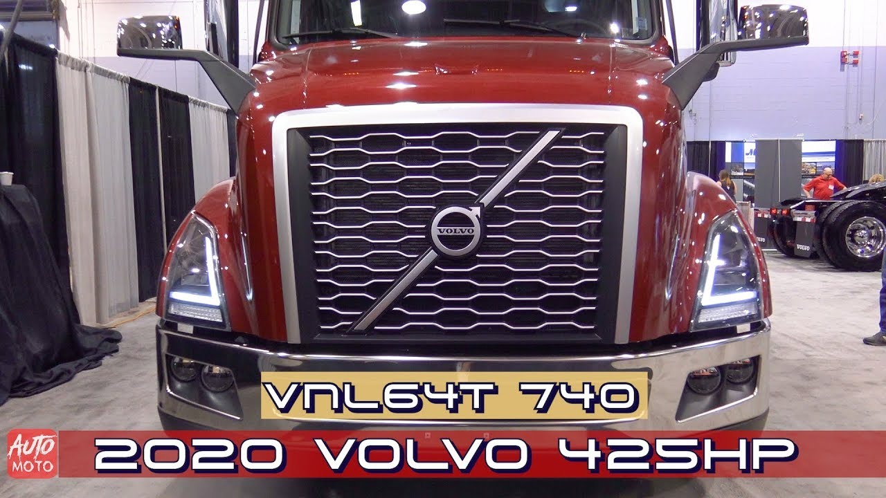 Louisville Truck Show 2020.2020 Volvo Vnl64t 740 425hp Exterior And Interior 2019 Atlantic Truck Show