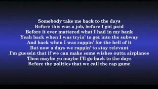 B.o.B. ft. Hayley Williams - Airplanes (lyrics)