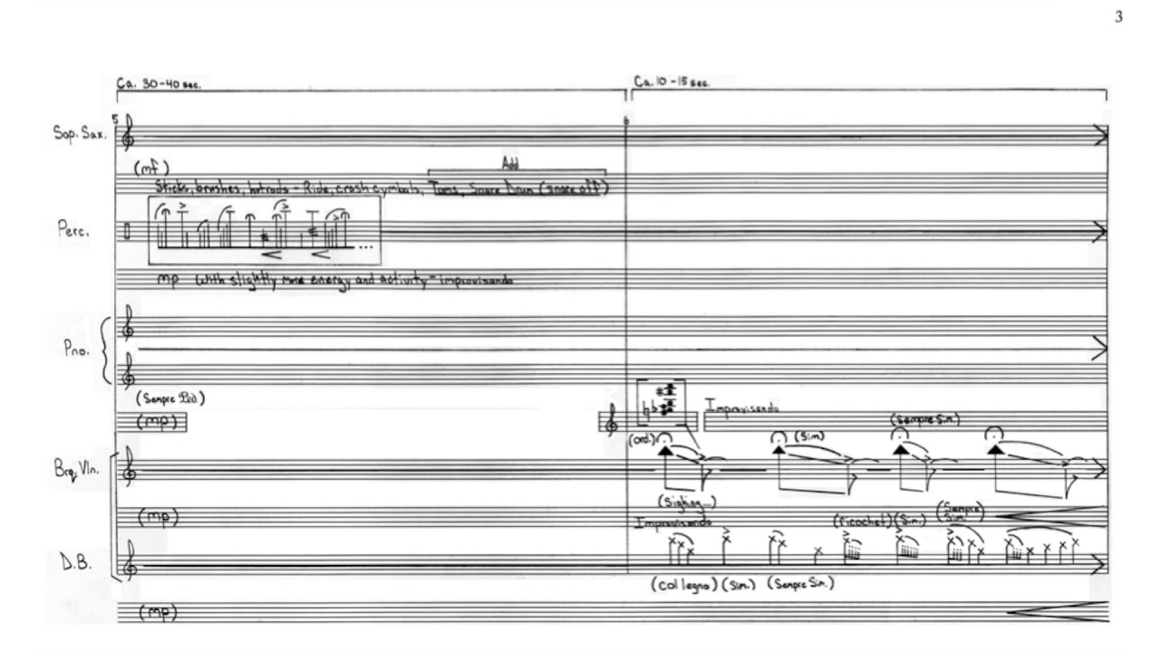 "Nick Virzi: ""Rain Spell"" for Quintet (2014) 