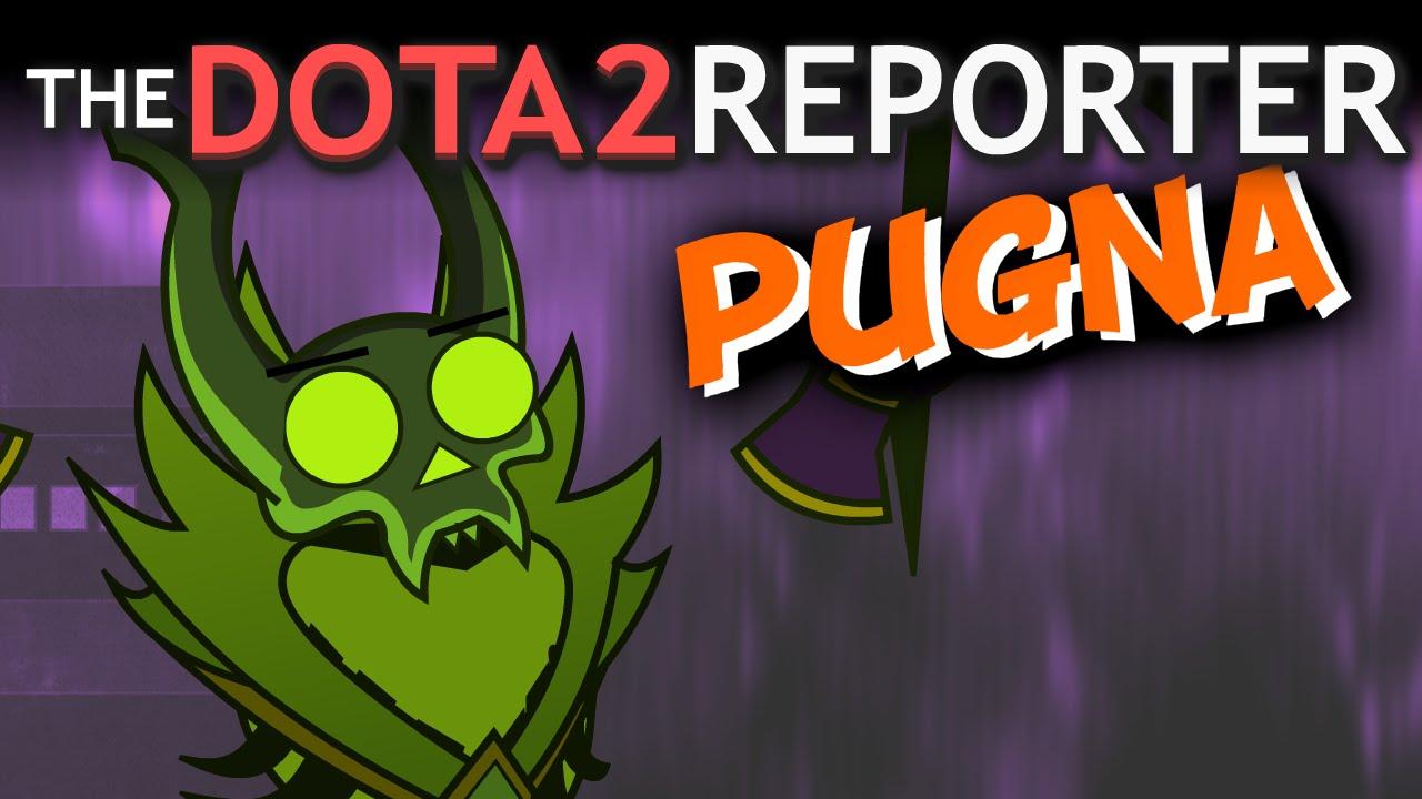 the dota 2 reporter meet pugna youtube