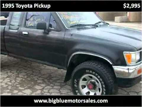 1995 Toyota Pickup Available From Big Blue Motor Sales