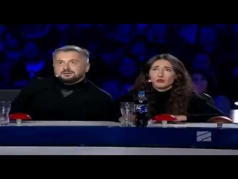 Видео, Georgias Got Talent Уникальный номер Зал аплодировал стоя