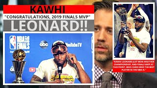 Kawhi Leonard(Toronto Raptors) The Best Player In The NBA? First Take - Stephen/Max [Commentary]