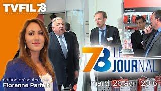 7/8 Le Journal – Edition du mardi 26 avril 2016