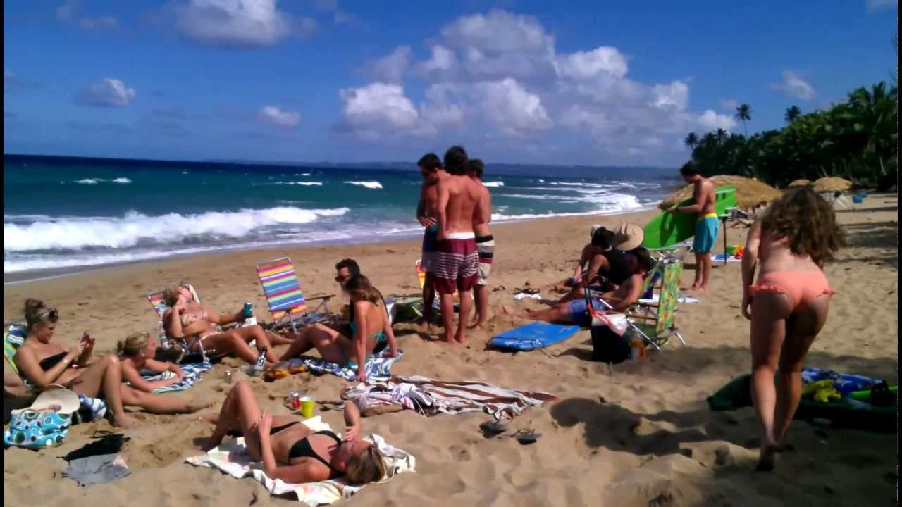 Rincon Puerto Rico Beach 1080p Hd