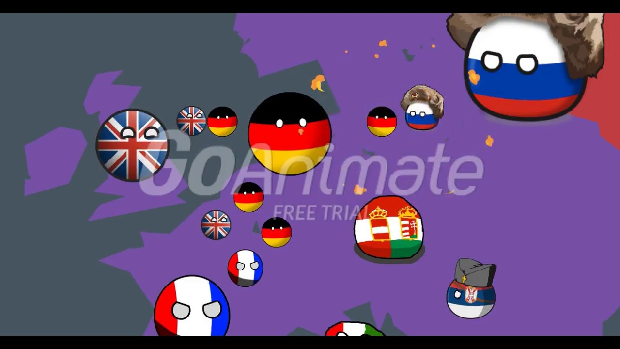 The Nations Of The World Yakko S World With Countryballs Youtube