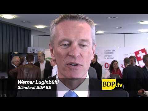 BDP Videonews zu den Abstimmungen und Wahlerfolg Solothurn 2013