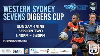 2018 Western Sydney Sevens - Diggers Cup - Sunday Session Two