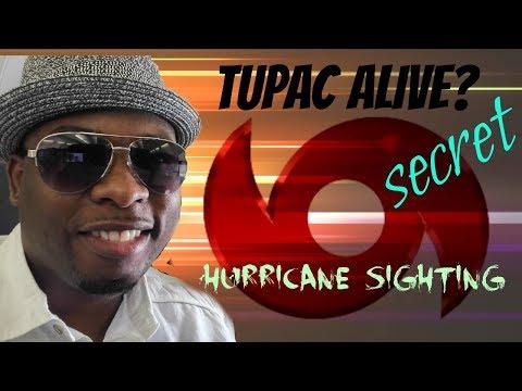 secret hurricane video ... tupac sighting in bahamas after irma hit