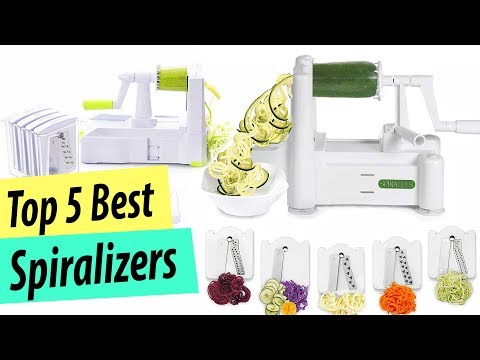 Best Spiralizer | Top 5 Best Spiralizers On the Market