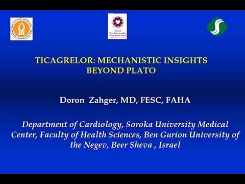 The Effect of Ticagrelor in ACS -- Platelet and Non Platelet Dependent  Mechanisms | Doron Zahger