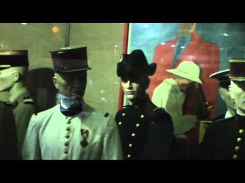 Musée des Troupes de marine - Uniformes des Troupes coloniales et des TDM