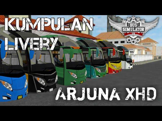 BUSSID   KUMPULAN ARJUNA XHD   2018 /2019 #1