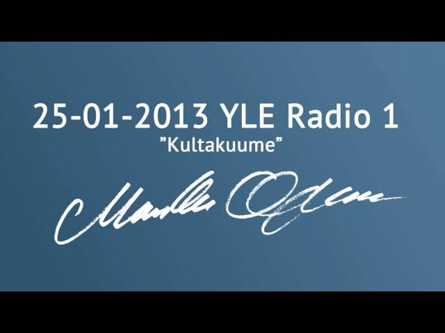 Markku Ojanen YLE Radio 1:n Kultakuume-ohjelmassa 25.01.2013