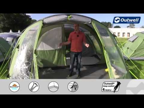 Outwell Cleveland 6P Tent 2013 - C&ingWorld.co.uk & Outwell Cleveland 6P Tent 2013 - CampingWorld.co.uk - YouTube