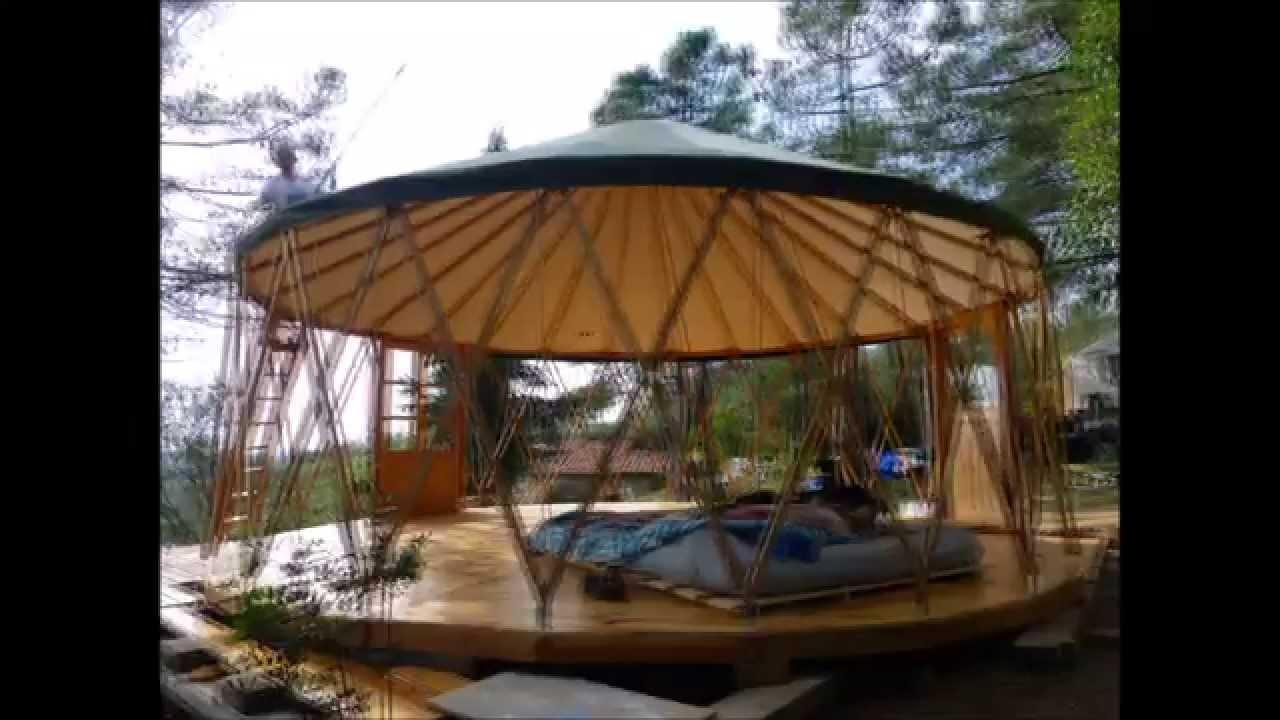 Yurta Ger Montaje 2014 Youtube