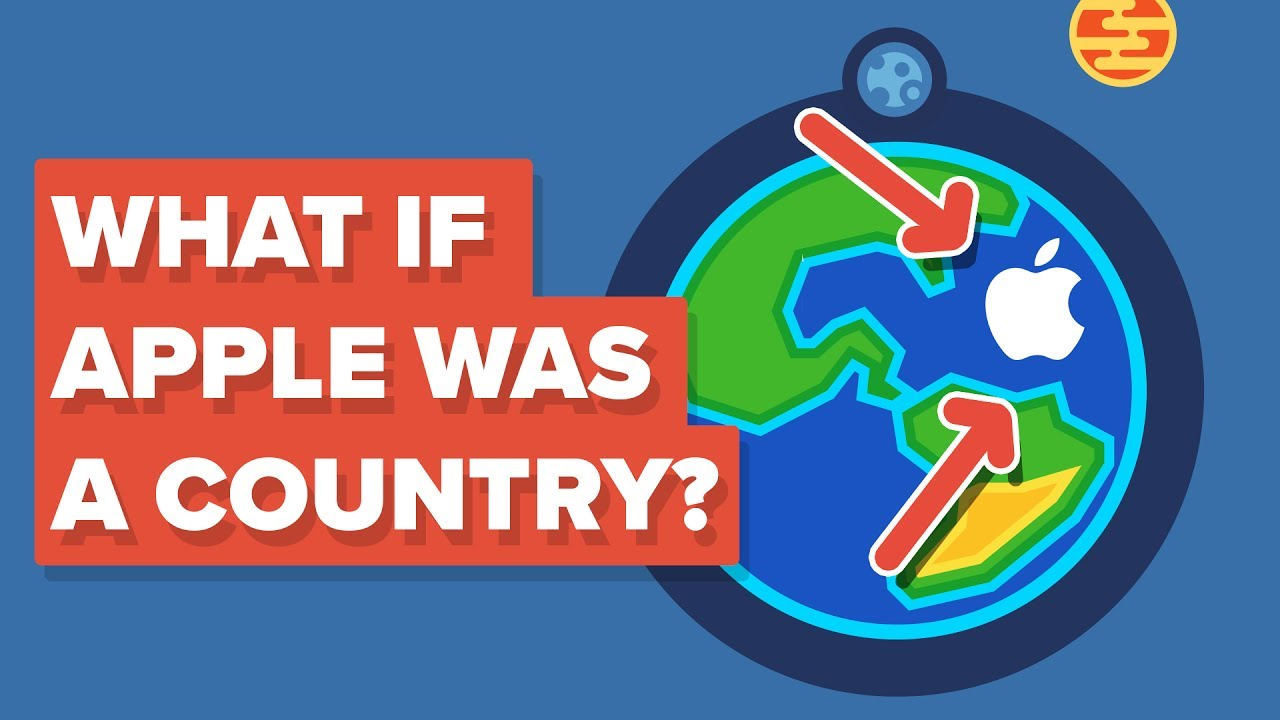 What If Apple Was a Country?