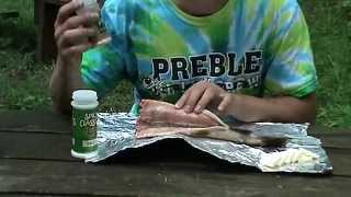 How To Prepare And Cook A Trout Over A Campfire