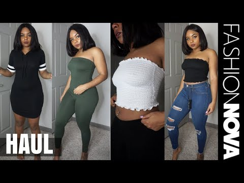I SPENT $300 ON FASHION NOVA CLOTHES!! | TRY ON HAUL