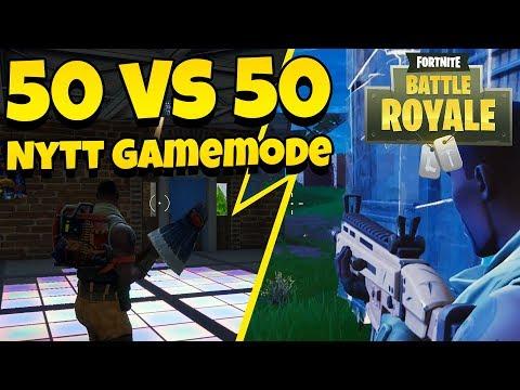 NYTT GAMEMODE: 50 vs 50 V2 | Fortnite Battle Royale