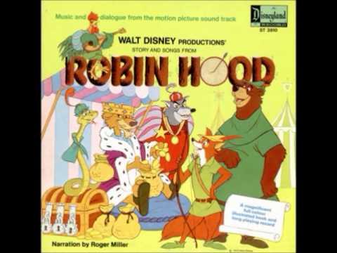 Robin Hood OST - 07 - Robin and Little John in Disguise