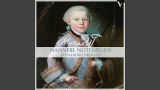 Nannerl Notenbuch: No. 9, Menuet in A Major