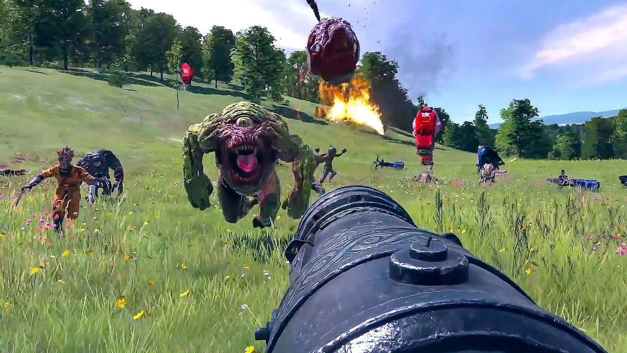 Serious Sam 4 NEW Gameplay Demo (FPS Action Game 2020) - YouTube