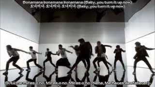 Super Junior - Bonamana (Sub Español - Hangul - Romanización)