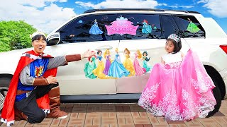 Boram histoires drôles avec Cars - Collection de vidéos pour enfants