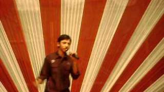 "SOURAV CHATTERJEE--My first stage performance on karaoke of ""DASTAAN E OM SHANTI OM"""