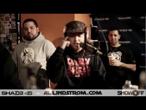 Mac Miller and The Come Up Boys Freestyle On Showoff Radio!