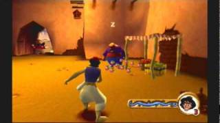 Ps1 game: Aladdin In Nasira's Revenge- Agrabah Level 3 P1