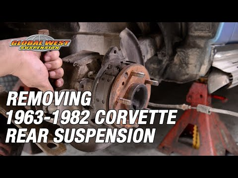 A Quick Look At Removing 1963-82 Corvette Rear Suspension