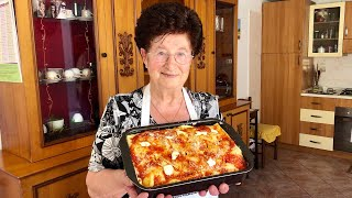 Pasta Grannies share Nonna Igea's timballo from Abruzzo