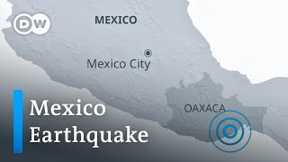 Southern Mexico hit by powerful earthquake | DW News