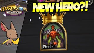 NEW HERO?! When did they Release Jaraxxus?? | Firebat Hearthstone Battlegrounds