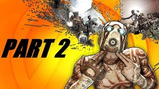 Our First Boss Battle!!! - Borderlands 2 Gameplay - Part 2