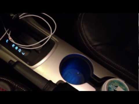 2010 Ford Focus SES Interior At Night