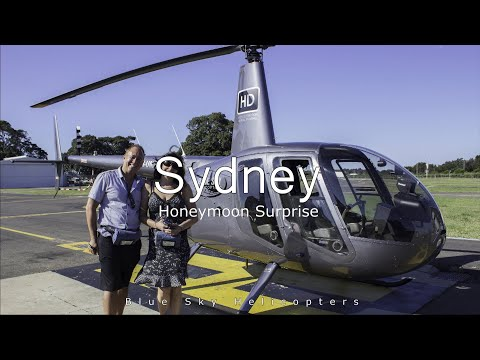 Windy Helicopter Flight Over Sydney - Blue Sky Helicopters