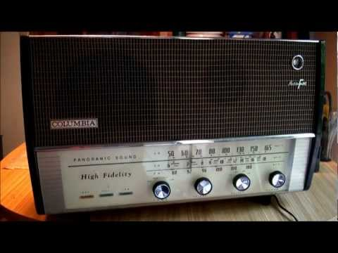 1961 Columbia C-625 Panoramic Sound AM/FM Radio