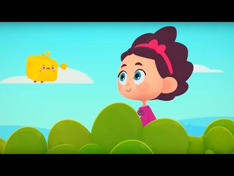 Четверо в кубе - Кубо домик - Серия 14 - музыкальный мультик для детей