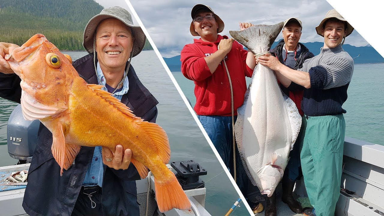 Alaska Yelloweye Rockfish Cod And Halibut One Of The Best Days