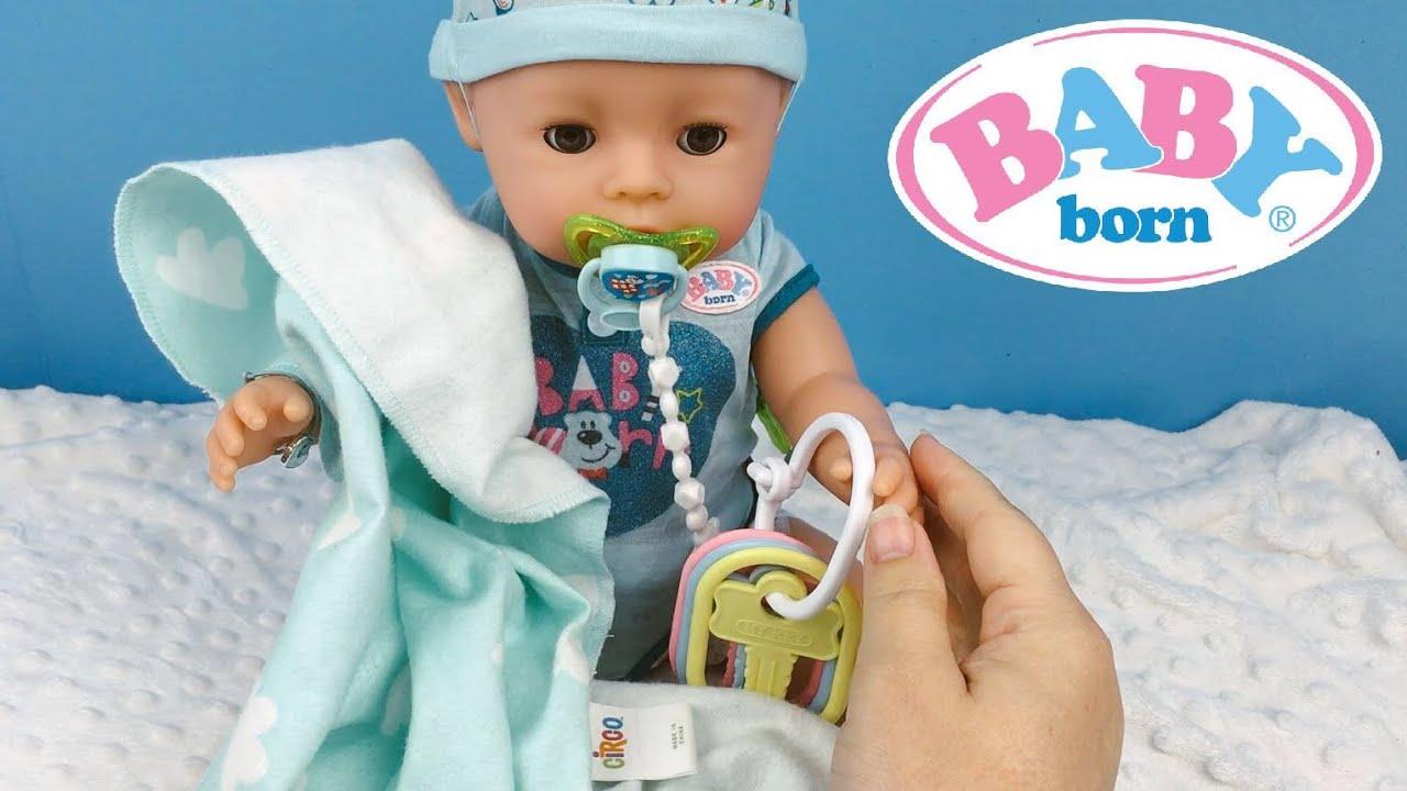 Baby Born Boy Doll Feeding Youtube